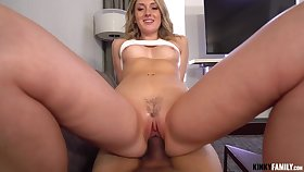Dick hungry nympho Charlotte Sins gets caught up in have the hots for with her stepbrother