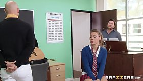 Natter on abysm pussy and ass shagging on get under one's chair approximately Callie Calypso