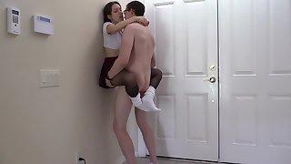 Lelu Love Crotchless Pantyhose Slouch Socks Sex