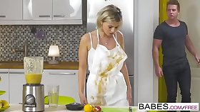 Step Old lady Lessons - A Real Mess  starring  Ivana Sugar increased by Chad Rockwell increased by Vicky Love clip