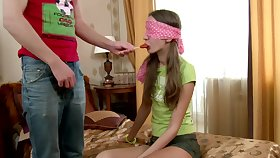 Cute Russian day June A gives head and gets fucked hard