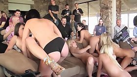 Orgy Parties Lapping Lesbians